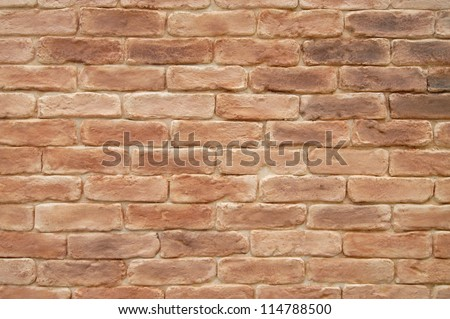 Old brick wall - background - stock photo