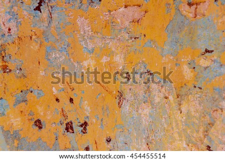 Old brick wall background colors. Antigua Guatemala