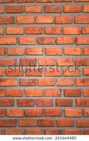 Old brick wall in a background - stock photo