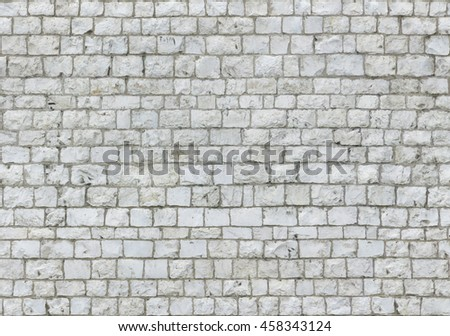 Old brick wall texture. Seamless/tileable pattern. - stock photo