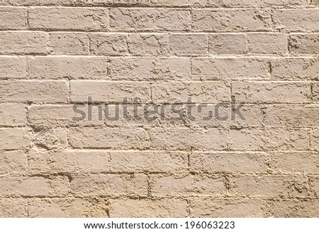 old brick walls of historic houses in typical structure