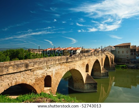 Old bridge in Spain