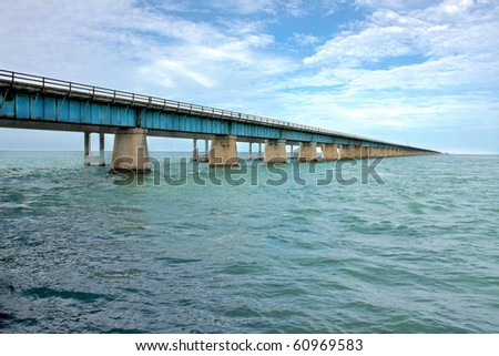 Old bridge to the Key West.