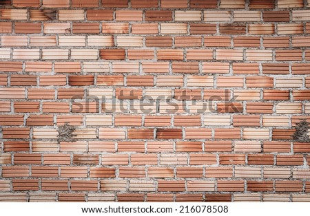 old brown brick wall texture