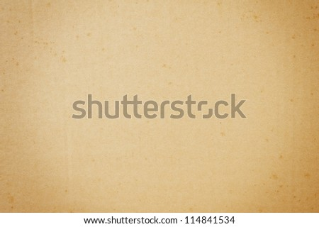 old brown cardboard paper texture - stock photo