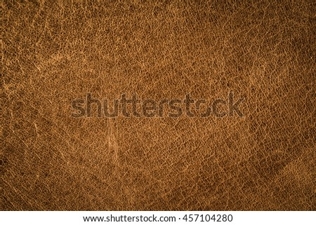 Old brown leather background.