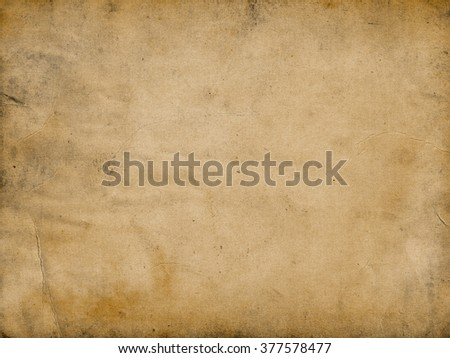 Old brown paper background.