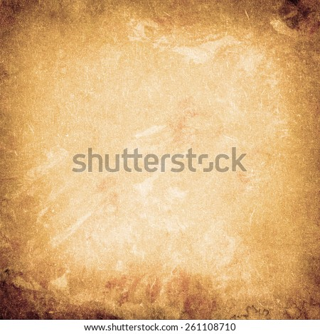 Old Brown Paper Texture. Background - stock photo