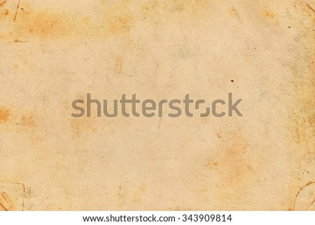 Old brown paper. Vintage paper background - stock photo