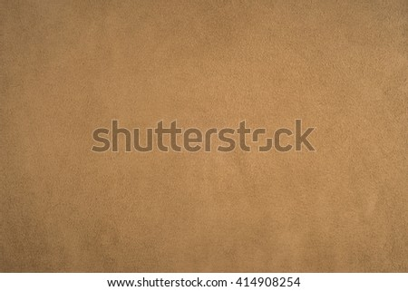 Old brown suede background texture - stock photo