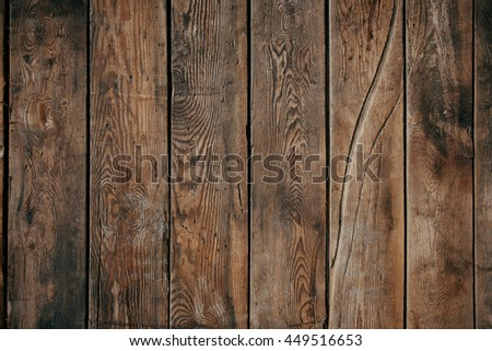 Old brown wood background