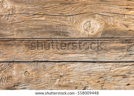 Old brown wood background.