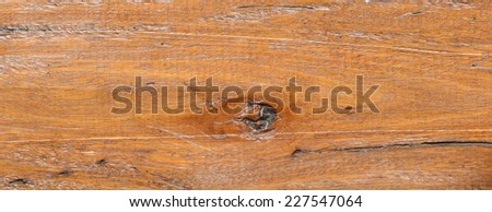 old brown wood texture for pattern background - stock photo
