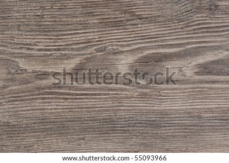 Old brown wooden background and texture. - stock photo