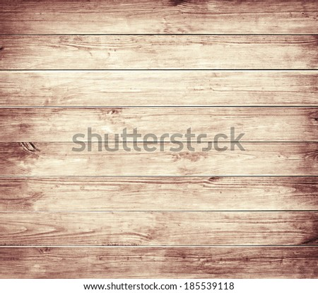 Old brown wooden planks texture. - stock photo