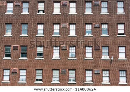 Old Building Facade - stock photo