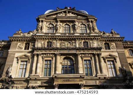 Old building in Paris, France