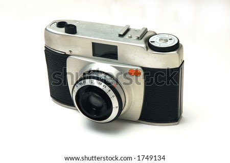 old camera - stock photo