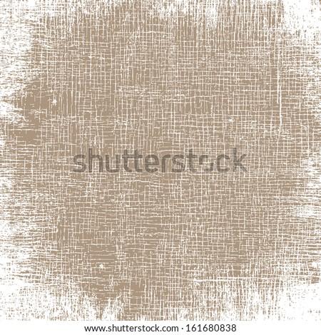 Old Canvas Texture.  - stock photo