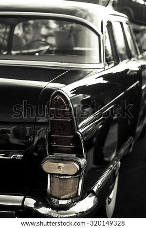 old car - stock photo