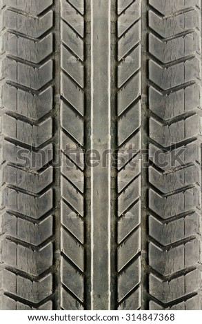 old car tire texture background