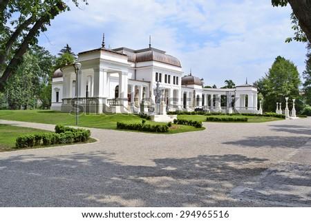 Old Casino Building 1897 In Central Park Cluj Napoca Romania Repurposed