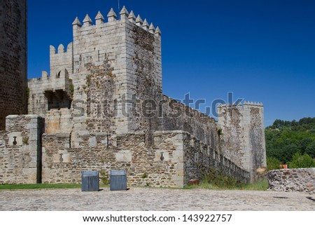 old castle in Portugal