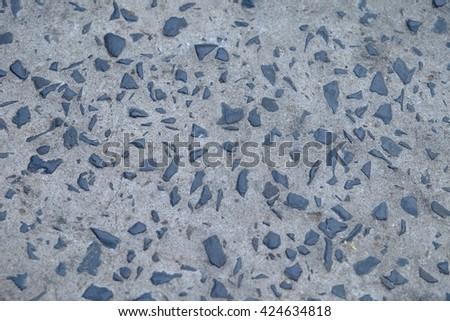 Old cement floor - stock photo