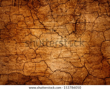 Old chapped canvas background. - stock photo