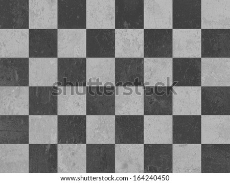 Old checker chess square abstract background - stock photo