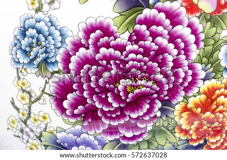 chinese vase stock images, royaltyfree images  vectors, Beautiful flower
