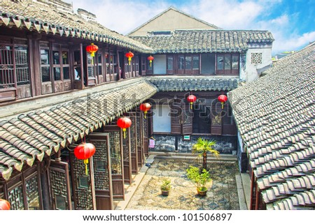 Old Chinese mansion