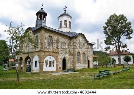 Old Church in Apriltzi, Bulgaria - stock photo