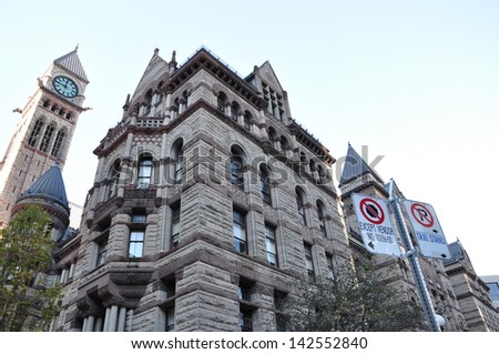 Old City Hall, Toronto, Ontario, Canada - stock photo