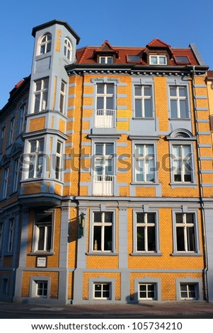 Old City House - stock photo