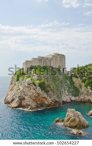 Old City of Dubrovnik, Croatia - fortifications