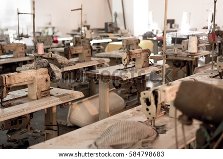 old clothing factory