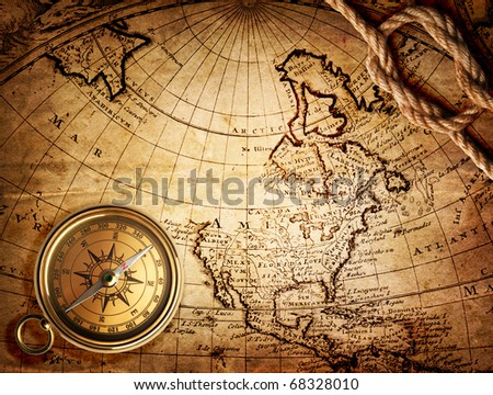 Old Map Compass Stock Images, Royalty-Free Images & Vectors ...