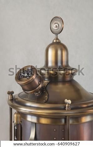 Vintage boiler stock images royalty free images vectors for Copper water boiler