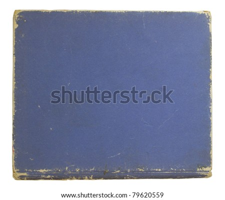 old cover book - stock photo