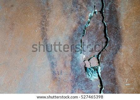 Old cracked concrete wall background texture