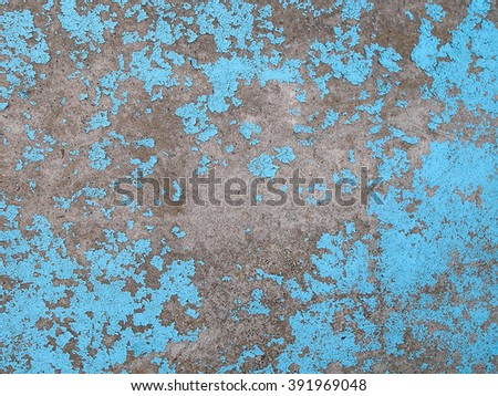 Old cracked paint on the concrete wall. Grunge concrete texture. Grunge stucco background. Retro texture. Vintage texture. Distress Texture. Scratched wall pattern - stock photo
