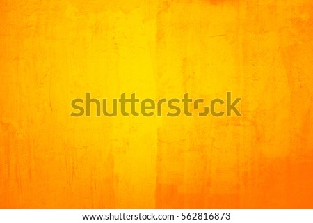 Old Cracked Painted Yellow Wall Background Stock Photo (Royalty Free ...