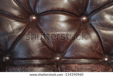 Old crumpled leather texture