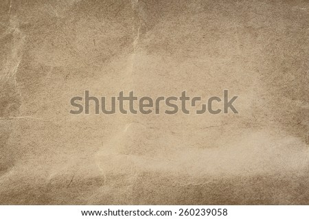 Old Crumpled Paper Texture. Background - stock photo