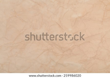 Old Crumpled Paper Texture. Grunge Background - stock photo