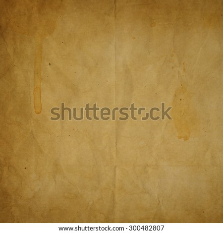 old crumpled paper texture or background