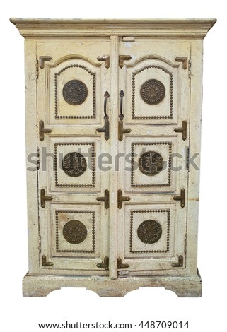 Old cupboard - stock photo