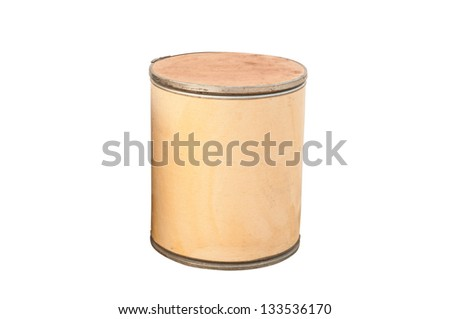 Old cylinder container - stock photo