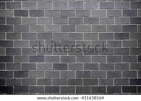 Old Dark brick wall, Vintage or grungy dark background of natural cement or stone old texture as a retro pattern wall, conceptual or metaphor wall banner, grunge, material, aged, rust or construction. - stock photo